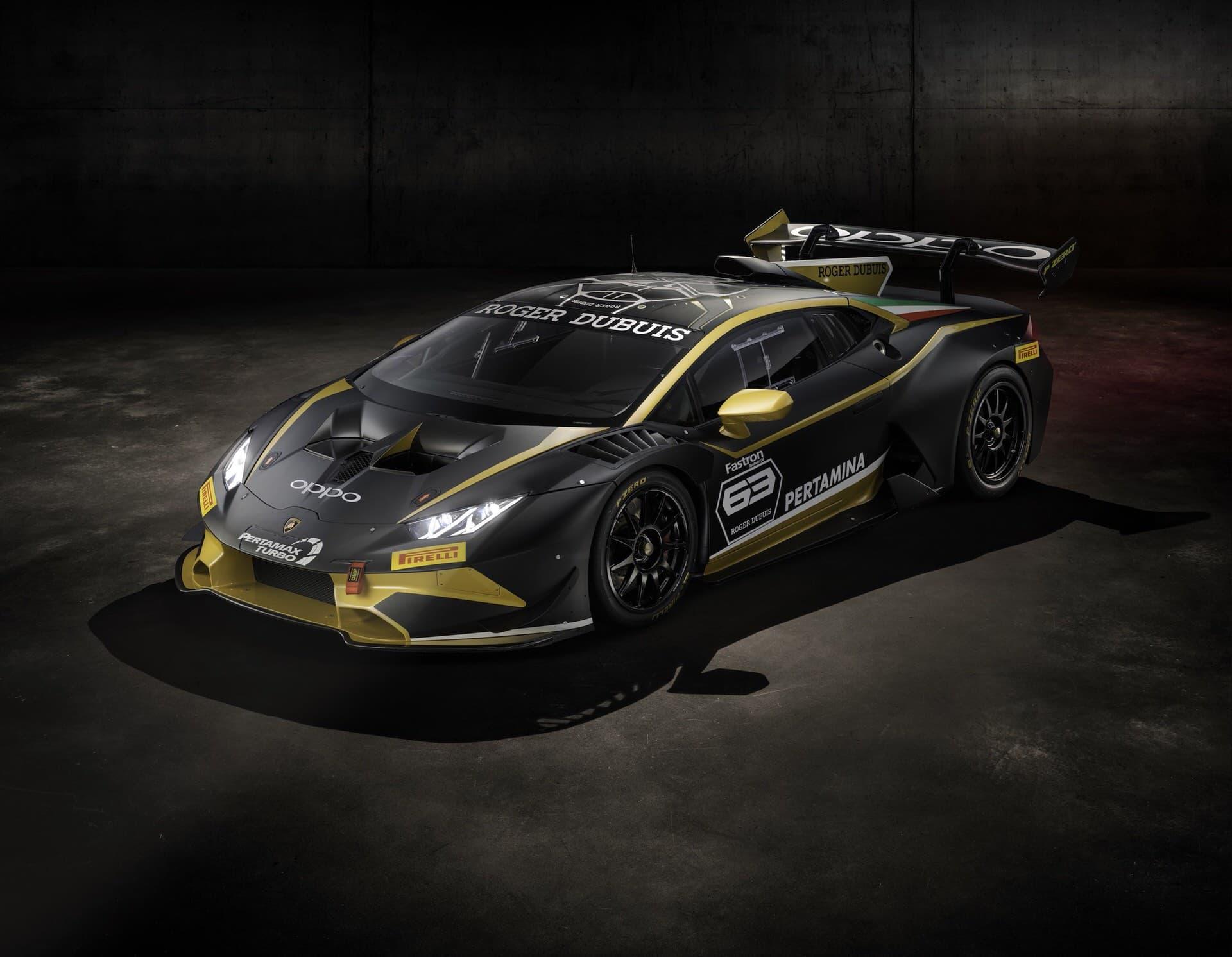 Lamborghini Huracan Super Trofeo Evo Collector 2019 Black Gold